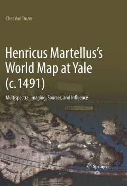 Van Duzer Henricus Martellus's World Map at Yale cover May 24 2018